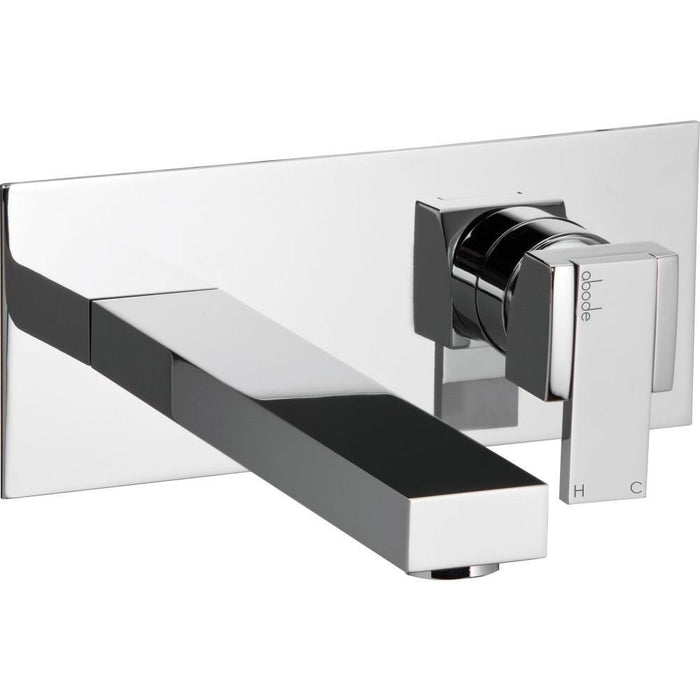 Abode Iso Wall Mounted Basin Mixer - Chrome