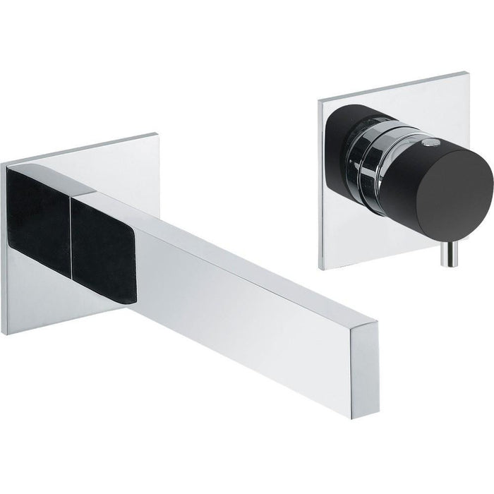 Abode Cyclo Wall Mounted 2 Hole Bath Filler