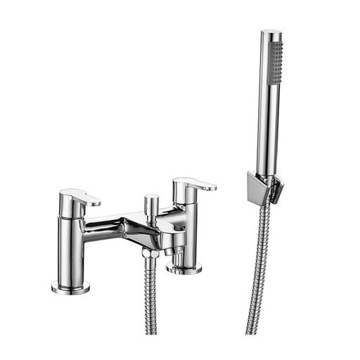 Abacus Ala-c Deck Mounted Bath Shower Mixer Tap-Chrome