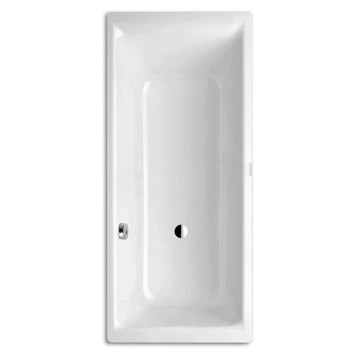 Kaldewei Ambiente Baths Puro Set Wide  170 x 75cm. 0 tap hole - White