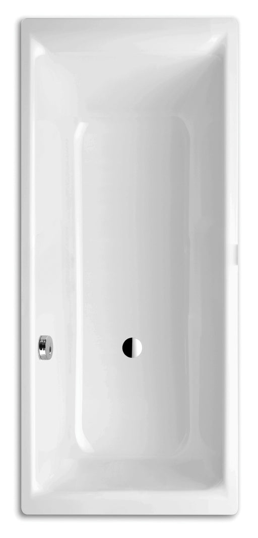 Kaldewei Ambiente Baths Puro Side Overflow 0 tap hole, Side Overflow