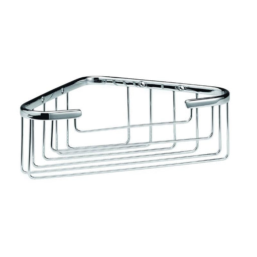 Bayswater Deep Corner Basket  - Chrome