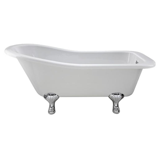 Bayswater Pembridge Slipper Free Standing Bath - White