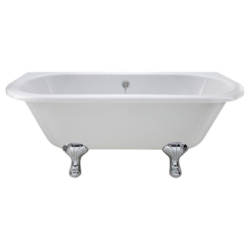Bayswater Courtnell 1700mm Back To Wall Bath - White