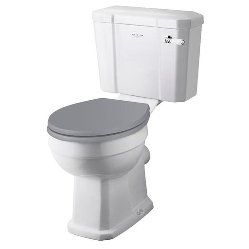 Bayswater Fitzroy Comfort Height Pan Close Coupled Cistern and Seat