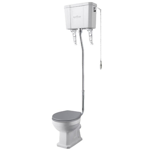 Bayswater Fitzroy Pan with High Level Cistern and seat