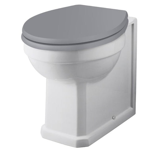 Bayswater Fitzroy Comfort Height Back to Wall Pan with Cistern and Seat