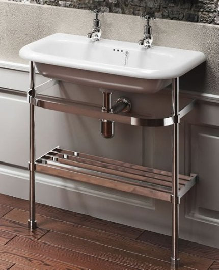 Clearwater Natural Stone Basin & Washstand