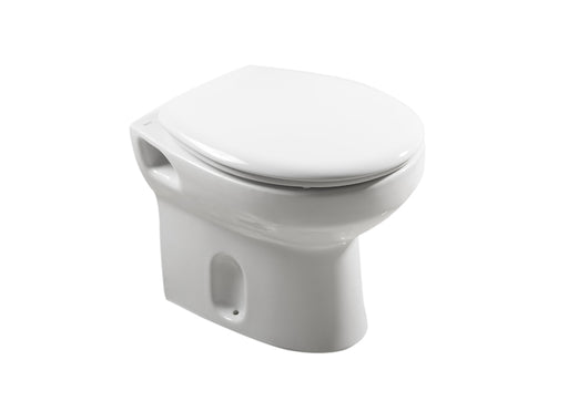 Roca Laura Back To Wall Toilet - Standard Seat - White