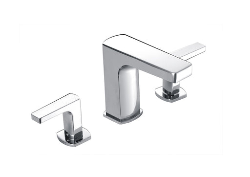 Roca Escuadra Deck-mounted basin mixer with pop-up waste
