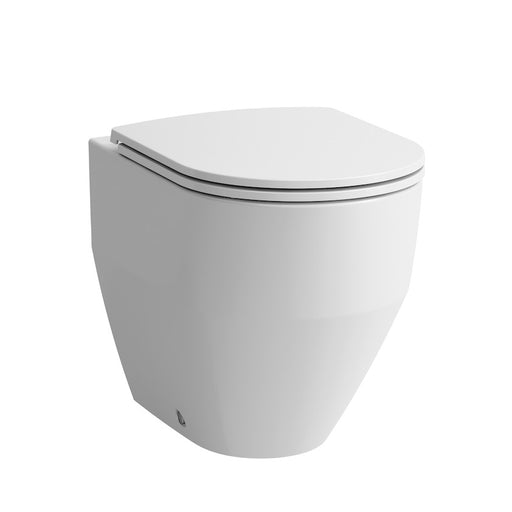 Laufen Pro Floorstanding Rimless Back to Wall Toilet
