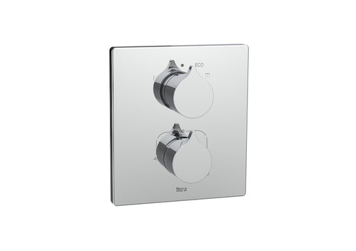 Roca Insignia Built-In Thermostatic Bath-Shower Mixer (2 Outlets)