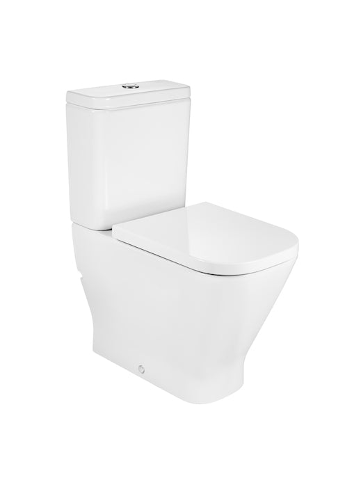 Roca The Gap Close To Wall Toilet With Dual Flush Cistern- White