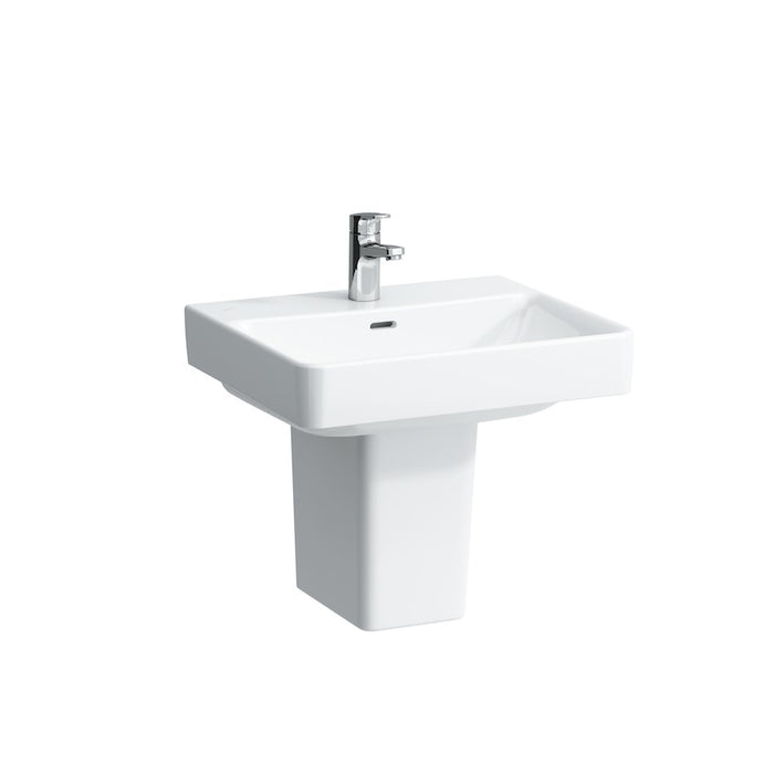 Laufen Pro S Basin One Taphole and Pedestal