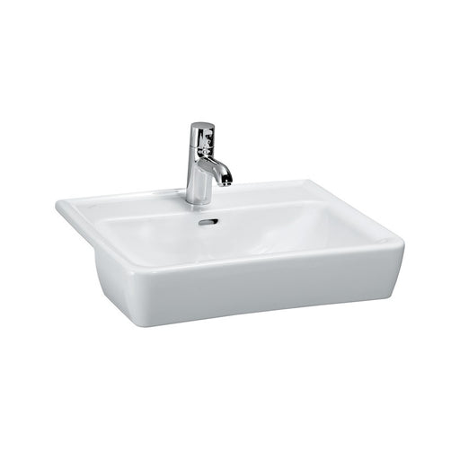 Laufen Pro Semi-Recessed Basin 56 x 44 cm - Square