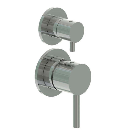 JTP Inox Stainless Steel manual concealed diverter valve