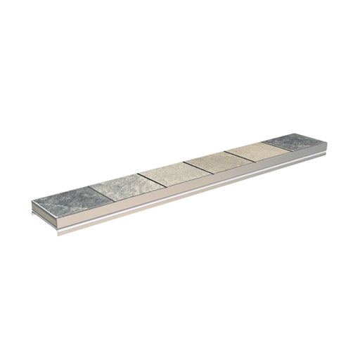Abacus Elements Linear 300/600mm Drain Cover Plate