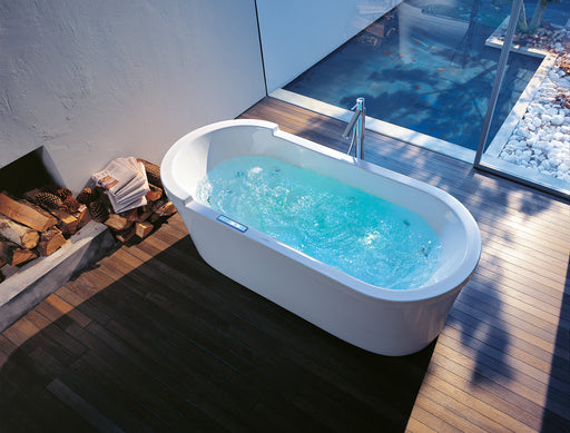 Duravit Starck Built-in Oval Whirltub with 2 backrest