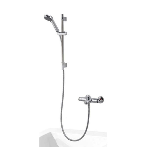 Aqualisa  Midas 100 Thermostatic Bath Shower Mixer with Slide Rail Kit