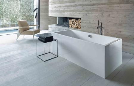 Duravit Vero Air 1800mm Corner Air-System Whirltub with 2 backrest
