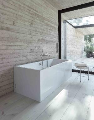 Duravit Vero Air 1800mm Back-to-wall Air-System Whirltub with 2 backrest