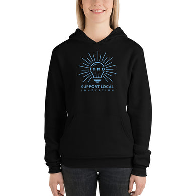 Support Local Innovation Unisex hoodie