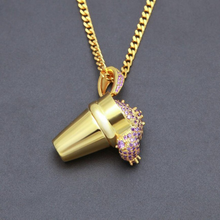 Purple Drank Necklace
