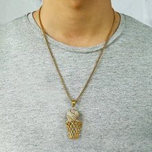Basketball Necklace