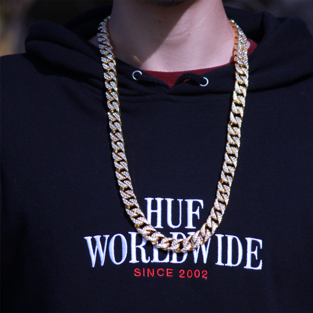 Iced Out Diamond Cuban Link Chain