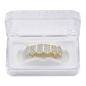 Vampire Iced Out Grillz