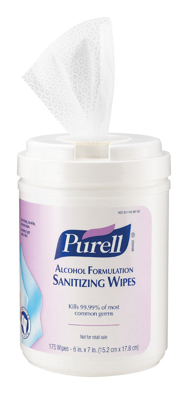 PURELL SANTZG WIPES175CT | OP NOTES OM: 1; (NO SPECIAL NOTES)