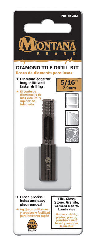 "TILE DRILL BIT5/16"" DIAM 