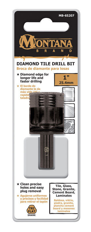 "TILE DRILL BIT 1"" DIAM 