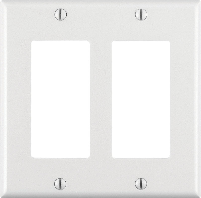 DECORA WALLPLATE 2G WHT | OP NOTES OM: 25; AN2 QPP: 1; (NO SPECIAL NOTES)