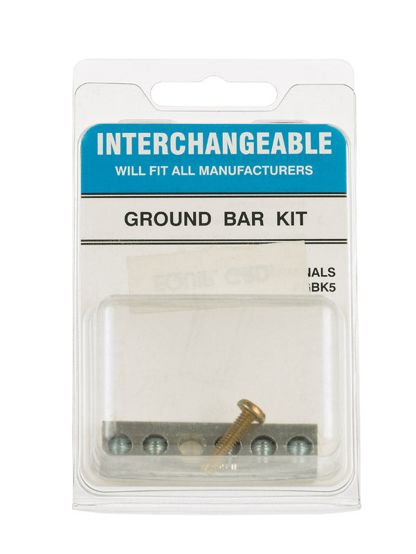 GROUND BAR KIT INTRCHG | OP NOTES OM: 1; (NO SPECIAL NOTES)