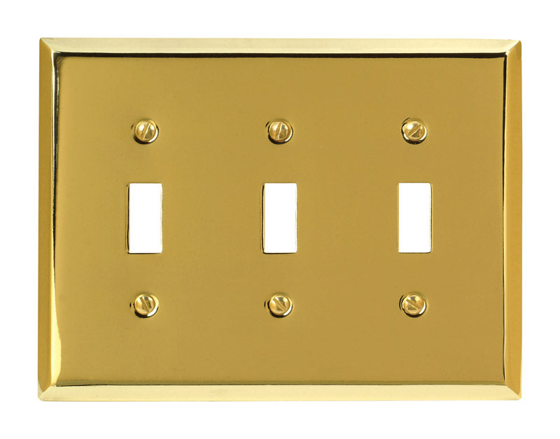 WALLPLATE 3TOG PB | OP NOTES OM: 1; AN2 QPP: 1; (NO SPECIAL NOTES)