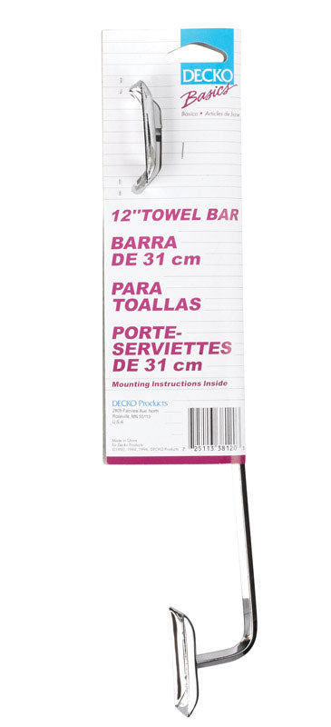"BAR TOWEL 12""DIAMOND CHR 