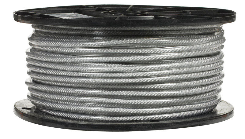 "CABLE 3/32""7X7 CLRVNYL 