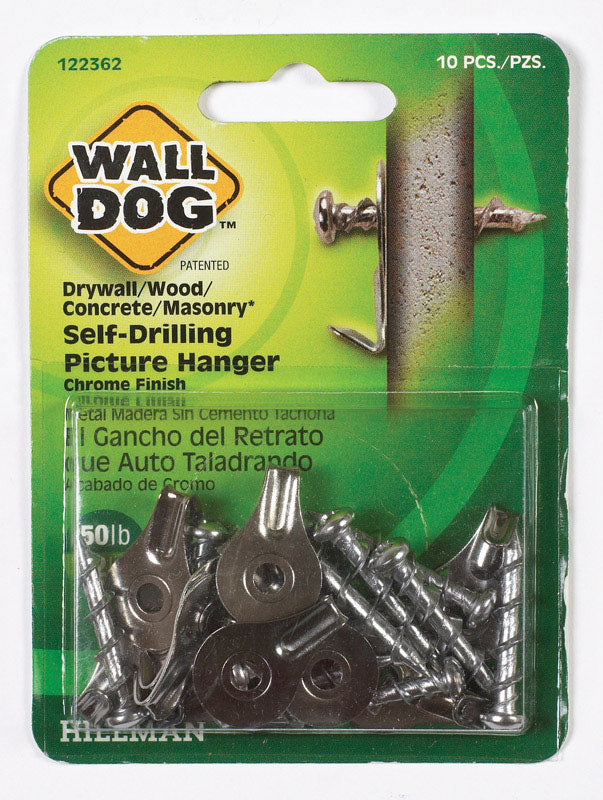 WALLDOG HANGER CHRM 10PK | OP NOTES OM: 10; (NO SPECIAL NOTES)