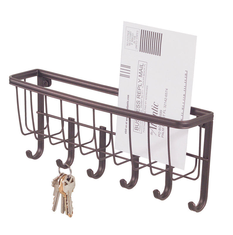 MAIL/KEY RACK YORK BRONZ | OP NOTES OM: 1; AN2 QPP: 1; (NO SPECIAL NOTES)