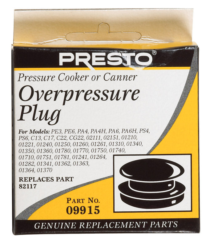 PRESSUR COOK OVER PLUG | OP NOTES OM: 1; (NO SPECIAL NOTES)