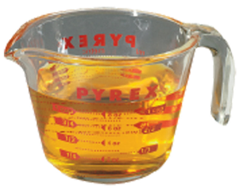 MEASURING CUP 1CP PYREX | OP NOTES OM: 6; (NO SPECIAL NOTES)