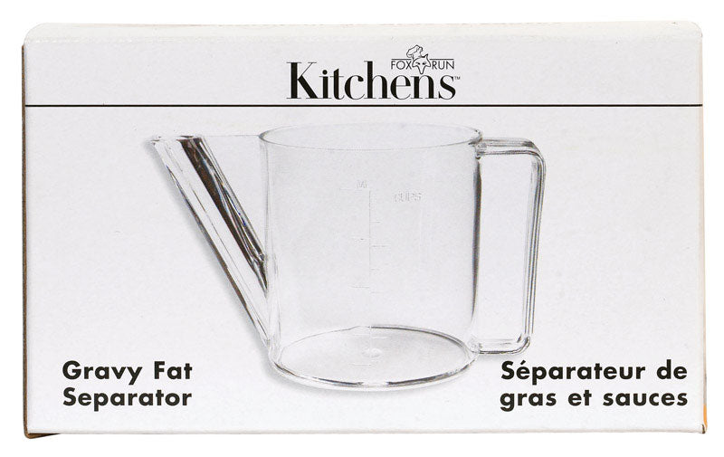 FAT/GRAVY SEPARATOR CLR | OP NOTES OM: 1; AN2 QPP: 6; AN3 TOTAL: 6 (NO SPECIAL NOTES)