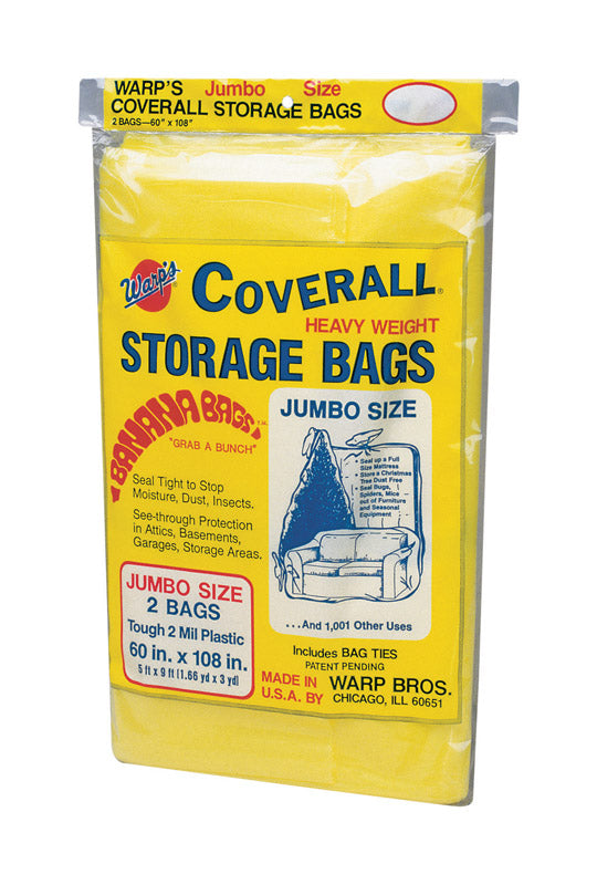 "BAG STORAGE 60""X108"" PK2 