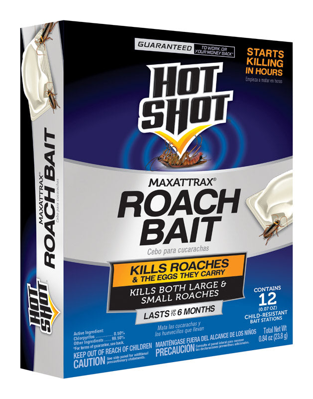 MAXATTRAX ROACH BAIT12CT | OP NOTES OM: 6; AN2 QPP: 12; AN3 TOTAL: 72 (NO SPECIAL NOTES)