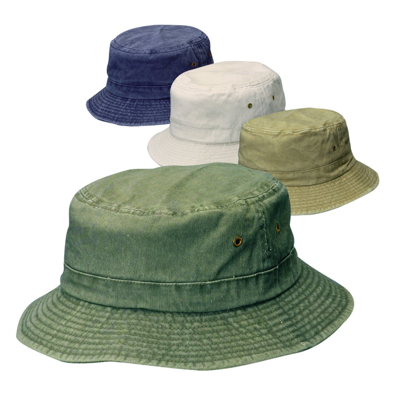 KIDS BUCKET HAT ASRTD | OP NOTES OM: 12; (NO SPECIAL NOTES)