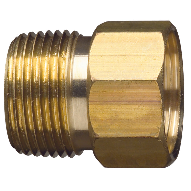 CONNECTOR M/F BRASS 3/4"