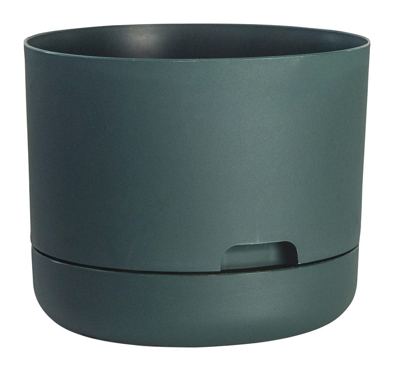 PLANTER RUGG GRN WTR 10"
