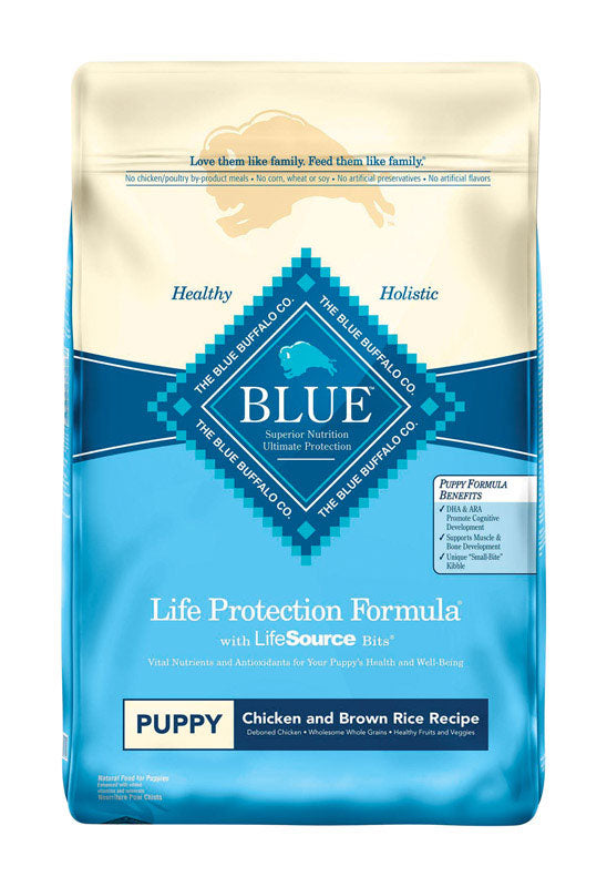BLUE PUPPY LPF CHIX 30LB | OP NOTES OM: 1; (NO SPECIAL NOTES)