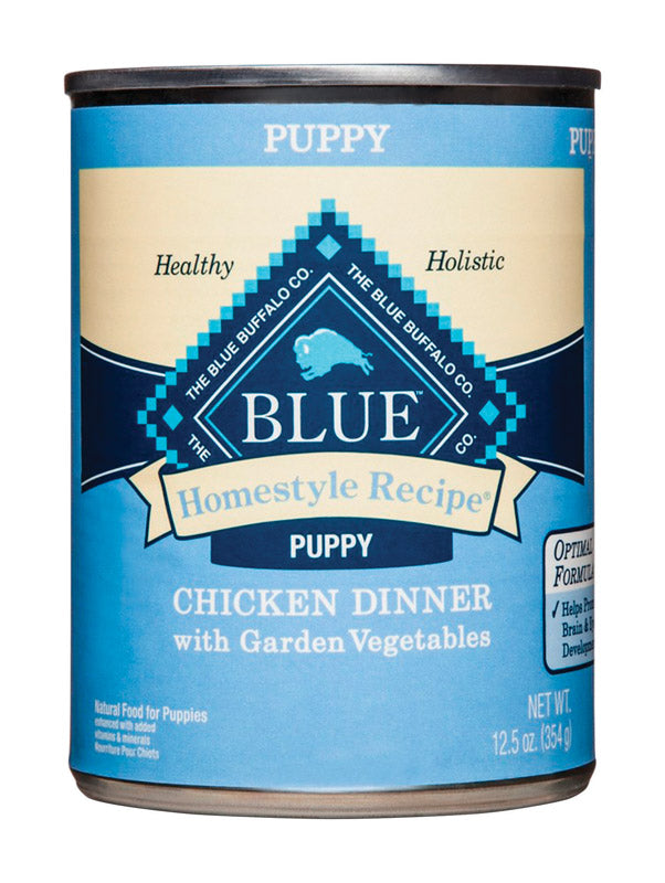BLUE HOME PUP CHK12.5OZ | OP NOTES OM: 12; (NO SPECIAL NOTES)